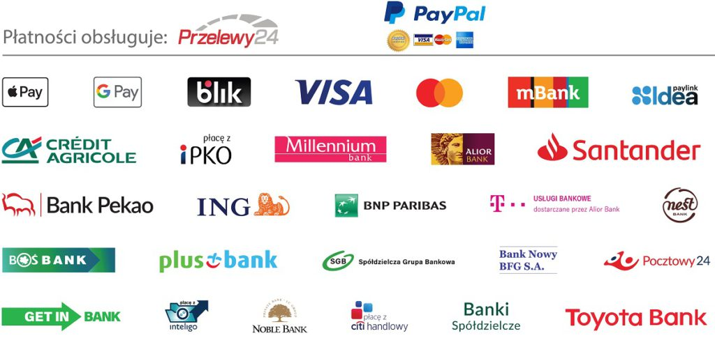 metody płatności za kurs